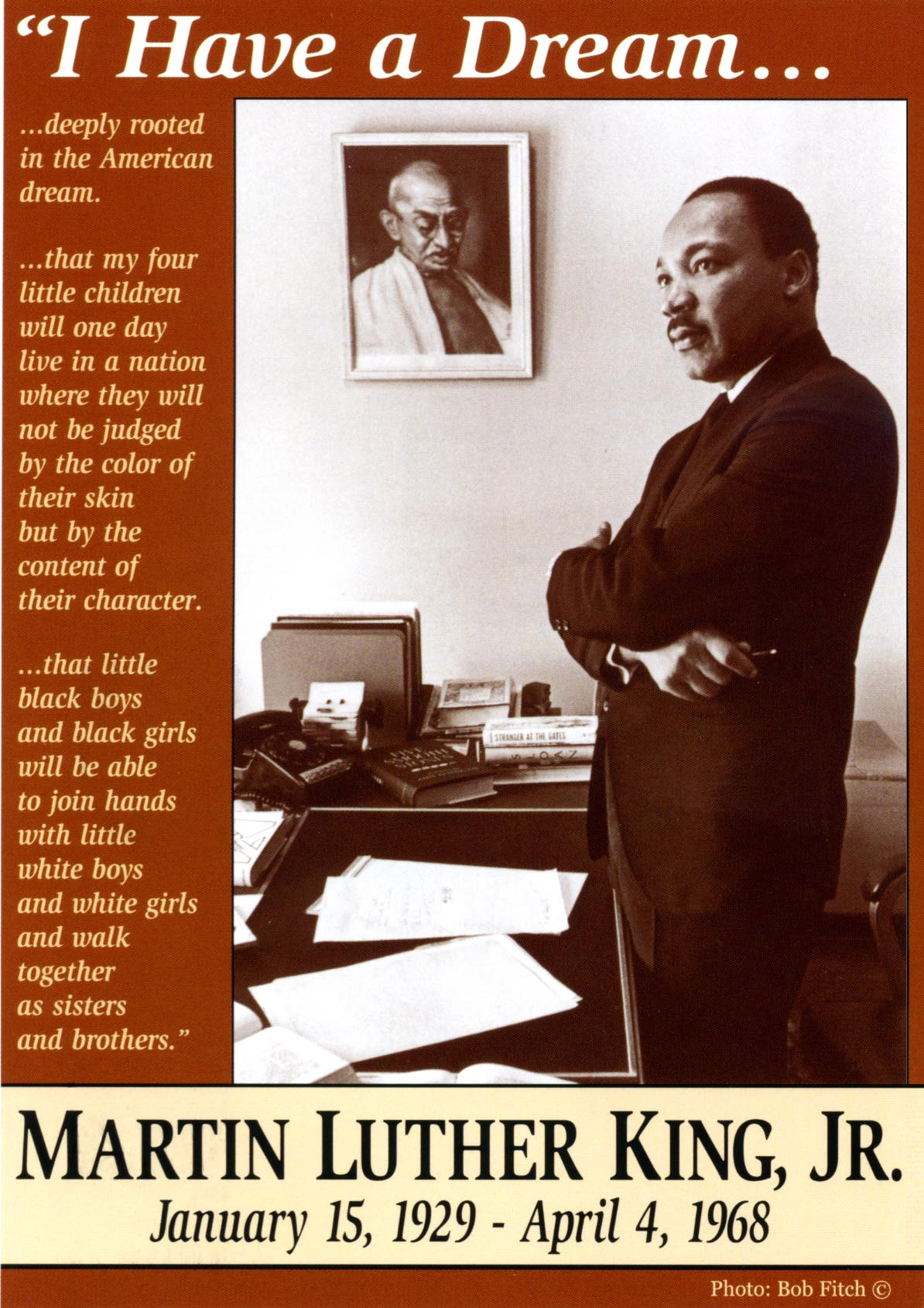 """King County Sales Tax >> New Martin Luther King, Jr. Poster: """"I Have a Dream"""" now available 