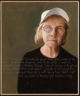 'Americans Who Tell the Truth' Portrait of Ann Wright